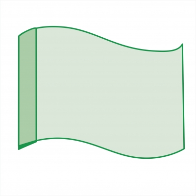 Флаг шелковый большой