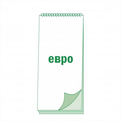 Блокнот евро