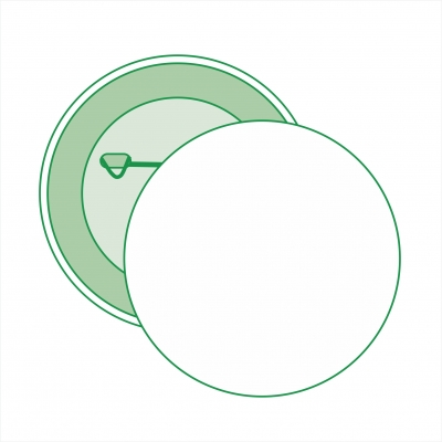 Значок круглый